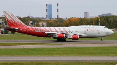 EI-XLC - Boeing 747-446 - Rossiya Airlines