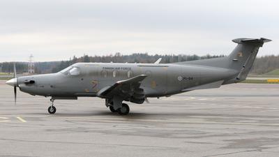 PI-04 - Pilatus PC-12/47E - Finland - Air Force