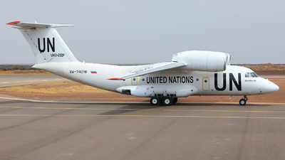 RA-74016 - Antonov An-74TK-100 - United Nations (Gazpromavia)