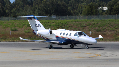 N22S - Cessna 525 CitationJet M2 - Private