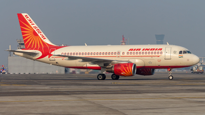 A picture of VTSCP - Airbus A319112 - Air India - © Janam Parikh