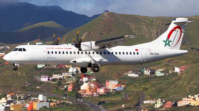 CN-COH - ATR 72-212A(600) - Royal Air Maroc Express