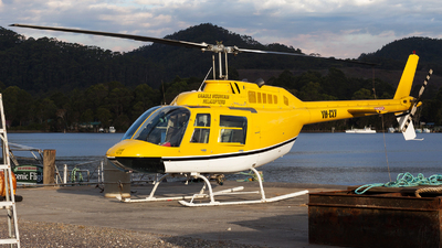 VH-CLY - Bell 206B JetRanger - Private