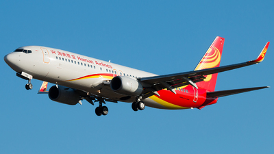 A picture of B1725 - Boeing 73784P - Hainan Airlines - © william8252