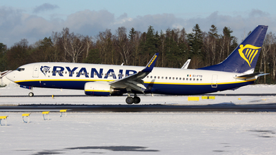 EI-FTD - Boeing 737-8AS - Ryanair