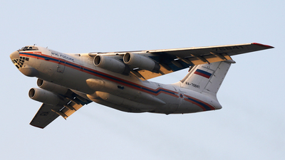 A picture of RA76841 - Ilyushin Il76TD - MCHS Rossii - © ShipSash