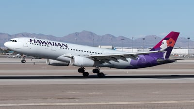 A picture of N378HA - Airbus A330243 - Hawaiian Airlines - © Yixin Chen