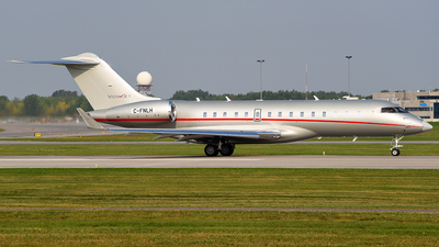 C-FNLH - Bombardier BD-700-1A10 Global 6000 - VistaJet