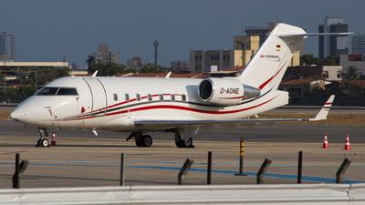D-AONE - Bombardier CL-600-2B16 Challenger 604 - Air Alliance