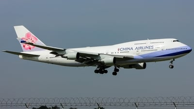 B-18207 - Boeing 747-409 - China Airlines