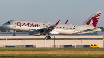 A7-AHT - Airbus A320-232 - Qatar Airways