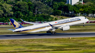 A picture of 9VSGE - Airbus A350941 - Singapore Airlines - © Dillon Chong