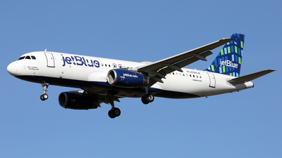 N784JB - Airbus A320-232 - jetBlue Airways
