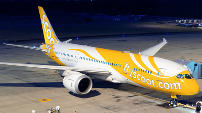 9V-OFC - Boeing 787-8 Dreamliner - Scoot