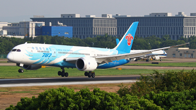 A picture of B2727 - Boeing 7878 Dreamliner -  - © Zihao Wang ~ AHaoo