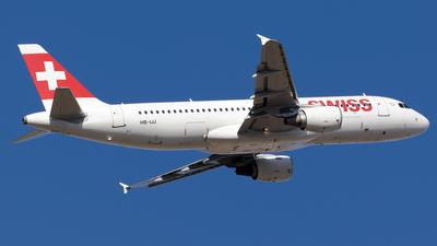 HB-IJJ - Airbus A320-214 - Swiss