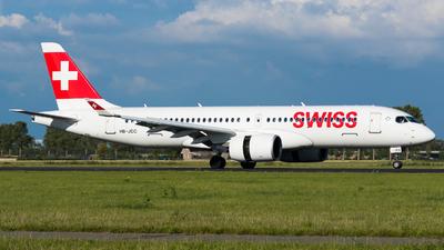 HB-JCC - Bombardier CSeries CS300 - Swiss
