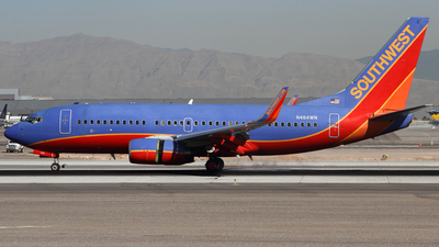 N484WN - Boeing 737-7H4 - Southwest Airlines