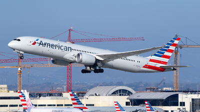 A picture of N820AL - Boeing 7879 Dreamliner - American Airlines - © Rocky Wang