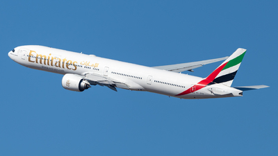 A picture of A6EPQ - Boeing 77731H(ER) - Emirates - © Jonathan Mifsud