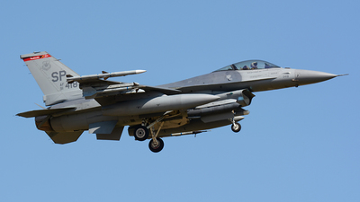 91-0418 - Lockheed Martin F-16CJ Fighting Falcon - United States - US Air Force (USAF)