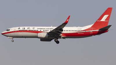 B-6107 - Boeing 737-89P - Shanghai Airlines