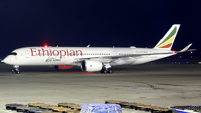 ET-AVE - Airbus A350-941 - Ethiopian Airlines