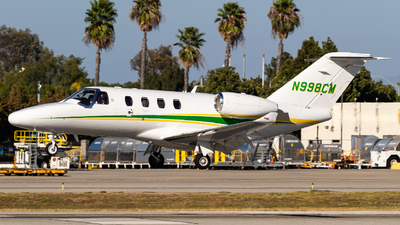 N998CM - Cessna 525 CitationJet M2 - Private