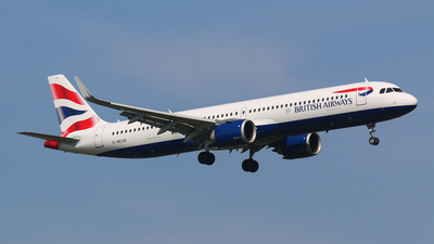 G-NEOR - Airbus A321-251NX - British Airways