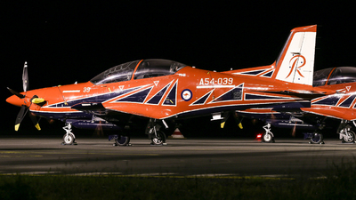 A54-039 - Pilatus PC-21 - Australia - Royal Australian Air Force (RAAF)