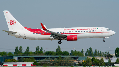 7T-VKG - Boeing 737-8D6 - Air Algérie