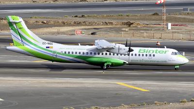 A picture of ECNGG - ATR 72600 - Binter Canarias - © Manuel EstevezR