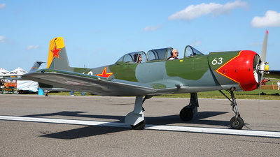 N19TN - Nanchang CJ-6A - Private
