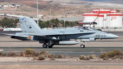 C.15-75 - McDonnell Douglas F/A-18A Hornet - Spain - Air Force