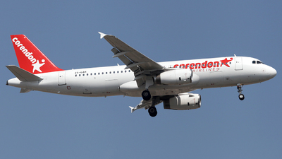 ZS-GAR - Airbus A320-231 - Corendon Airlines (Global Aviation)