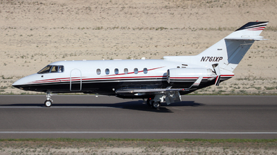 N761XP - Raytheon Hawker 850XP - Private