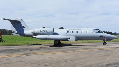 T-22 - Gates Learjet 35A - Argentina - Air Force
