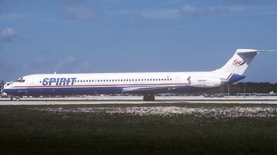 N805RA - McDonnell Douglas MD-82 - Spirit Airlines