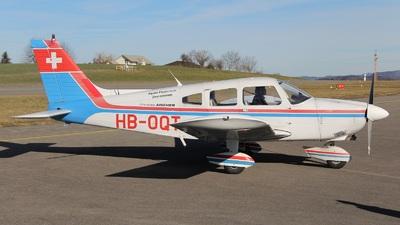 A picture of HBOQT - Piper PA28180 - [287505016] - © Manueljb