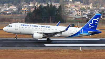 A picture of B8696 - Airbus A320214 - China Express Airlines - © Zhou Bodian