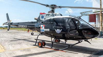 PP-JJJ - Helibrás AS-350B2 Esquilo - Brazil - Government of Para State