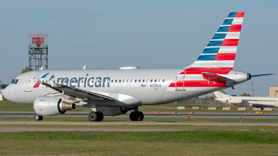 A picture of N758US - Airbus A319112 - American Airlines - © Lynden Westrich