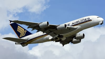 9V-SKD - Airbus A380-841 - Singapore Airlines
