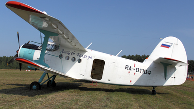 RA-01104 - PZL-Mielec An-2 - Russia - Defence Sports-Technical Organisation (ROSTO)