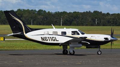 N611GL - Piper PA-46-M500 - Private