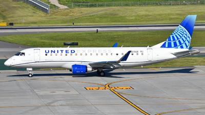 A picture of N613UX - Embraer E175LL - United Airlines - © JakeGolden