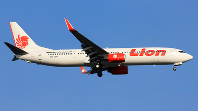 PK-LHV - Boeing 737-9GPER - Lion Air