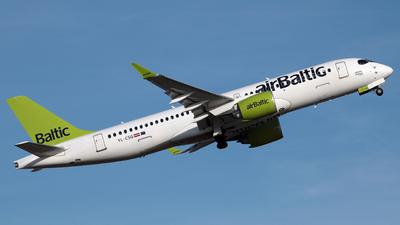YL-CSG - Bombardier CSeries CS300 - Air Baltic