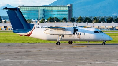 C-FCJE - Bombardier Dash 8-102 - Central Mountain Air
