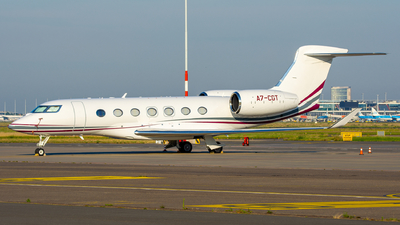 A7-CGT - Gulfstream G500 - Qatar Executive